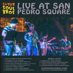 Live at San Pedro Square