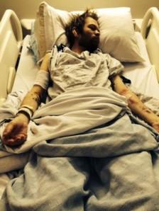 Deryck Whibley unconscious
